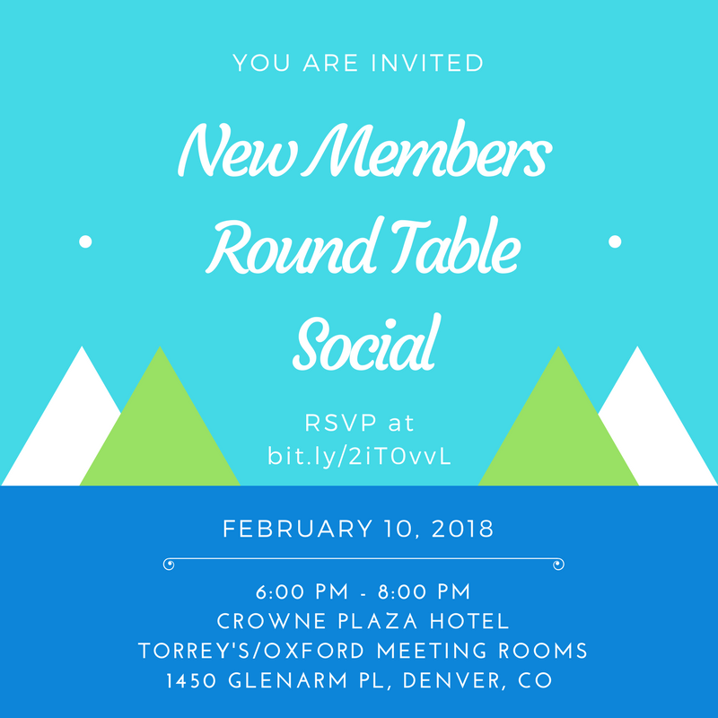RSVP to New Members Round Table Social